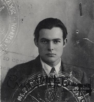 Ernest-Hemingway1 jpgYoung Ernest Hemingway