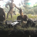 Lifesize diorama in Eceabat