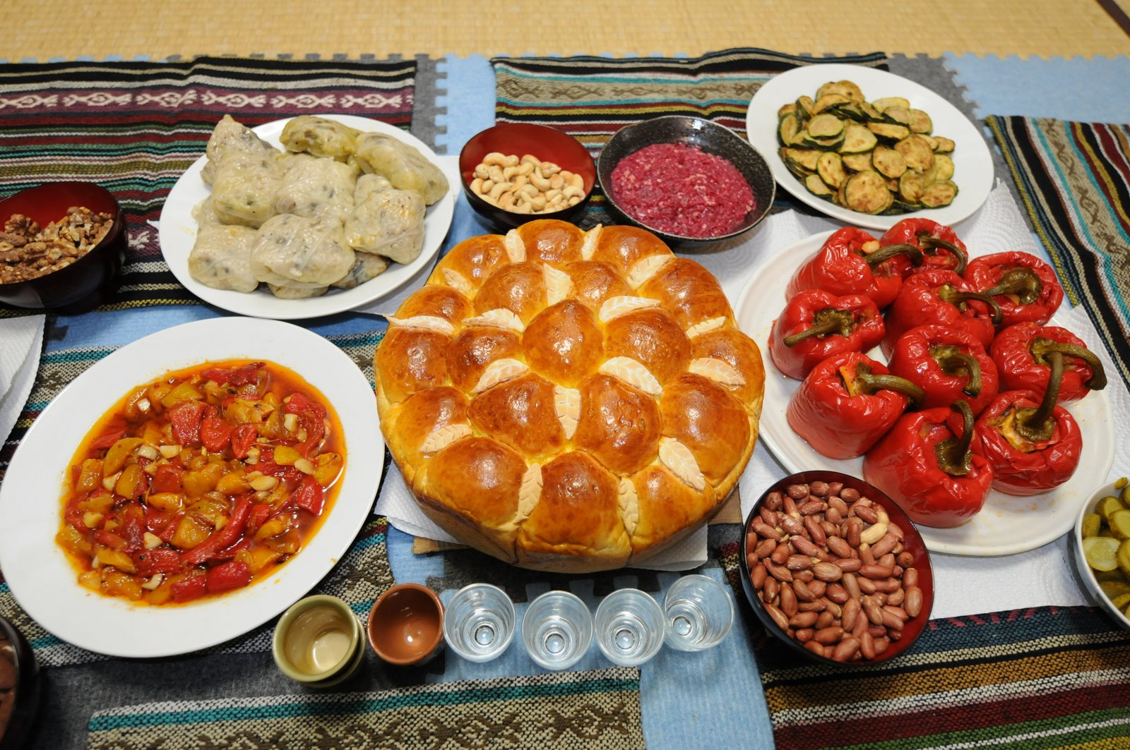 My introduction to bulgarian food and drink vagobond for Cuisine usine