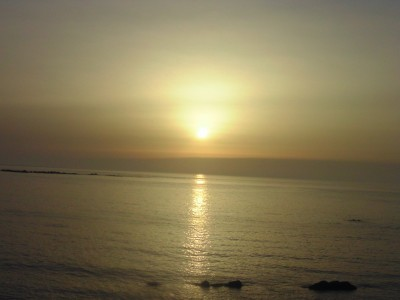 Sunset in Tangier