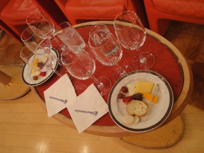 Holland America Wine Pairing