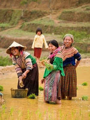 hill tribes in Laos